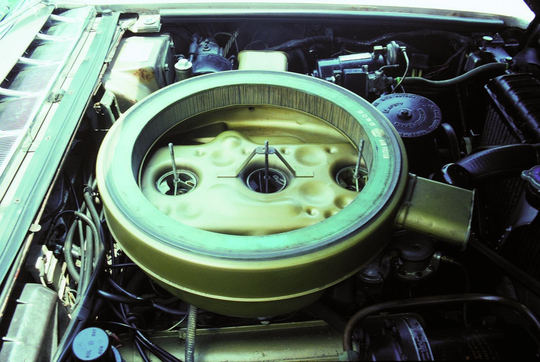 1957-58 Cadillac Eldorado Engine Bay