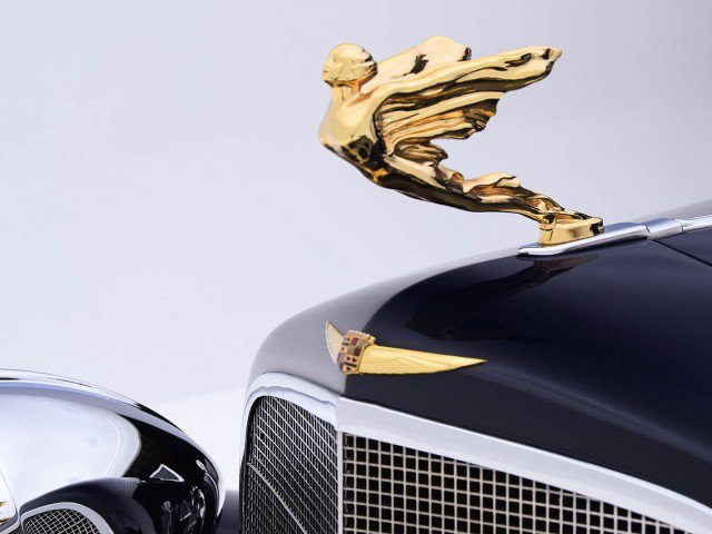 1933 Cadillac V-16 All Weather Phaeton Hood Ornament