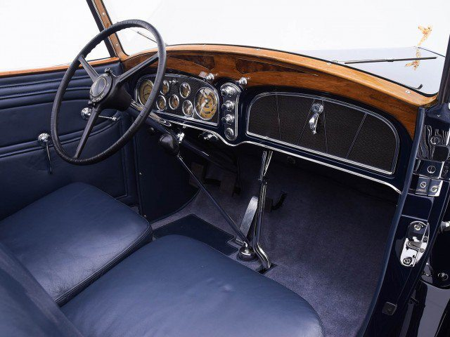 1933 Cadillac V-16 All Weather Phaeton Interior