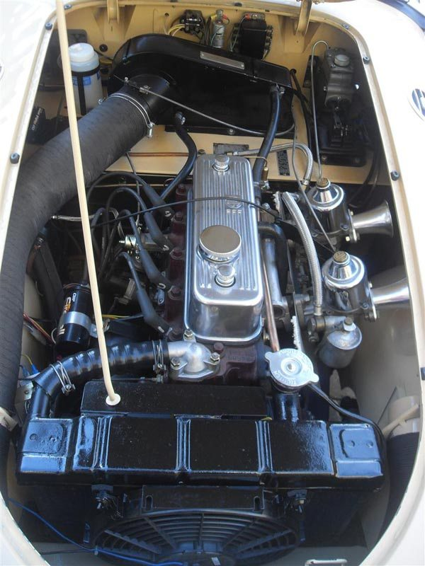 1957 MG MGA Roadster 1.6l Engine