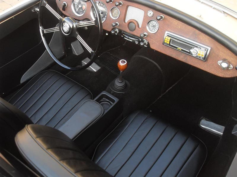 1957 MG MGA Roadster Interior