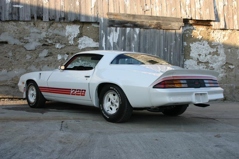 1981 Chevrolet Camaro Z28 Rear View