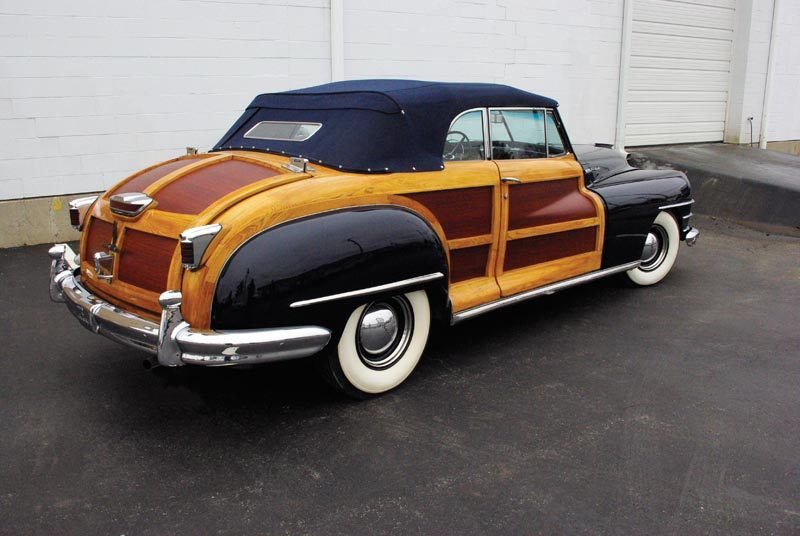 1948 Chrysler Town and Country Woody Side View