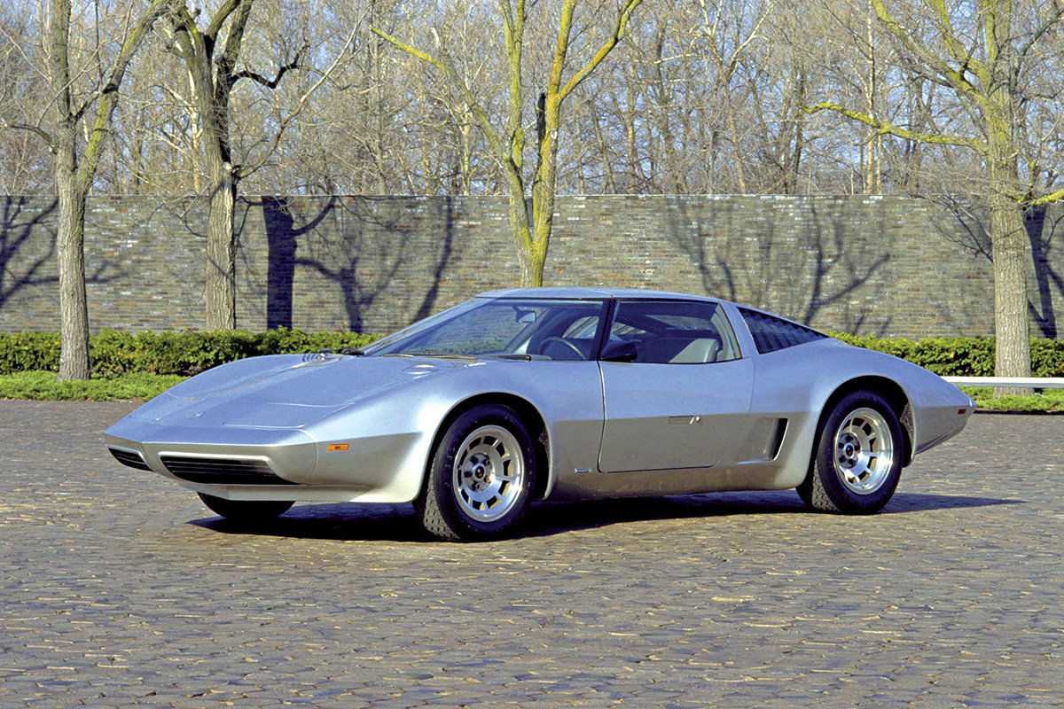 70s Chevy Corvette 4-Rotor Wankle Rotary Concept