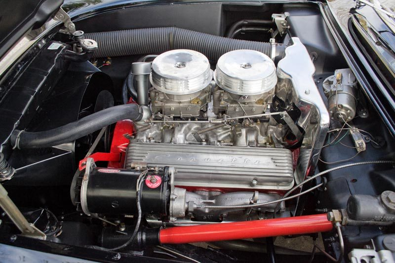 1956 Chevrolet Corvette Roadster 265 V8 Engine