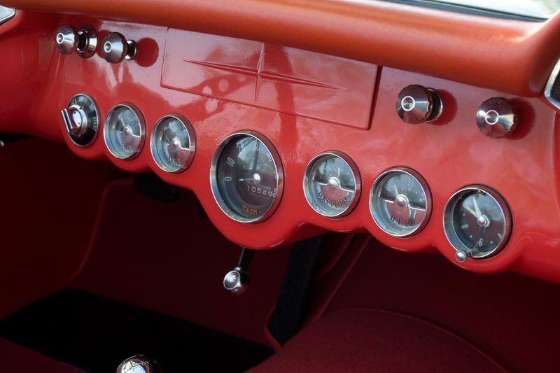 1956 Chevrolet Corvette Roadster Dash