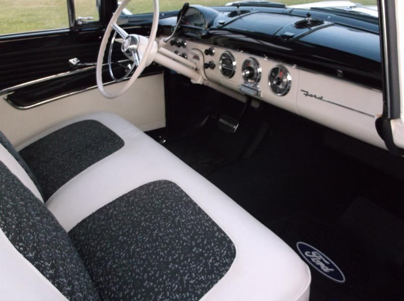 1955 Ford Fairlane Crown Victoria Interior