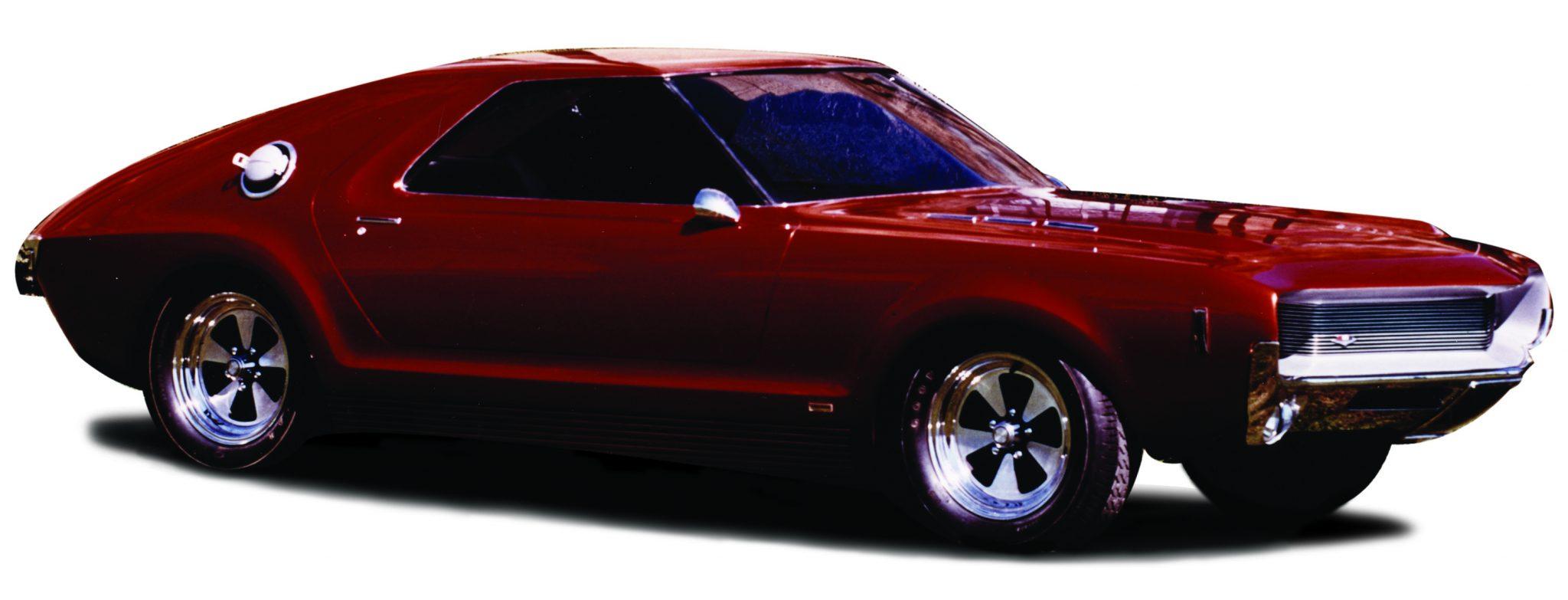 AMX fiberglass concept car