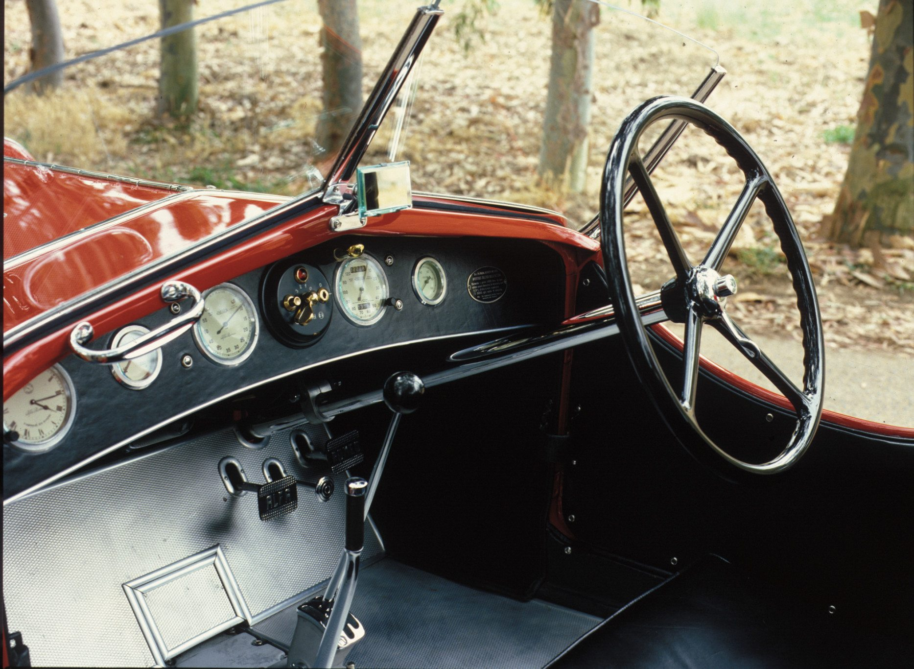 Alfa Romeo 6C 1500 Zagato Dash
