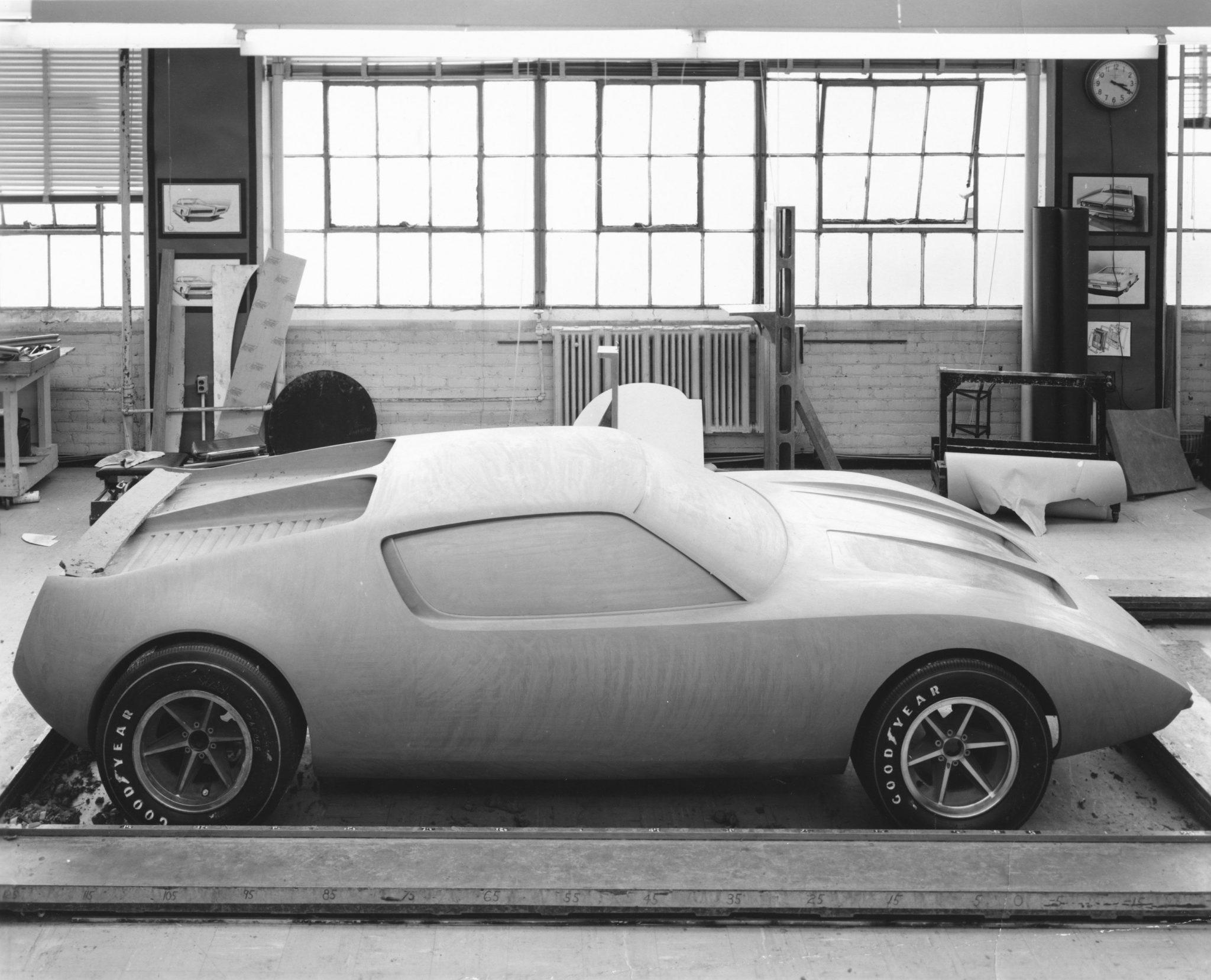 American Motors AMX2 Clay Concept
