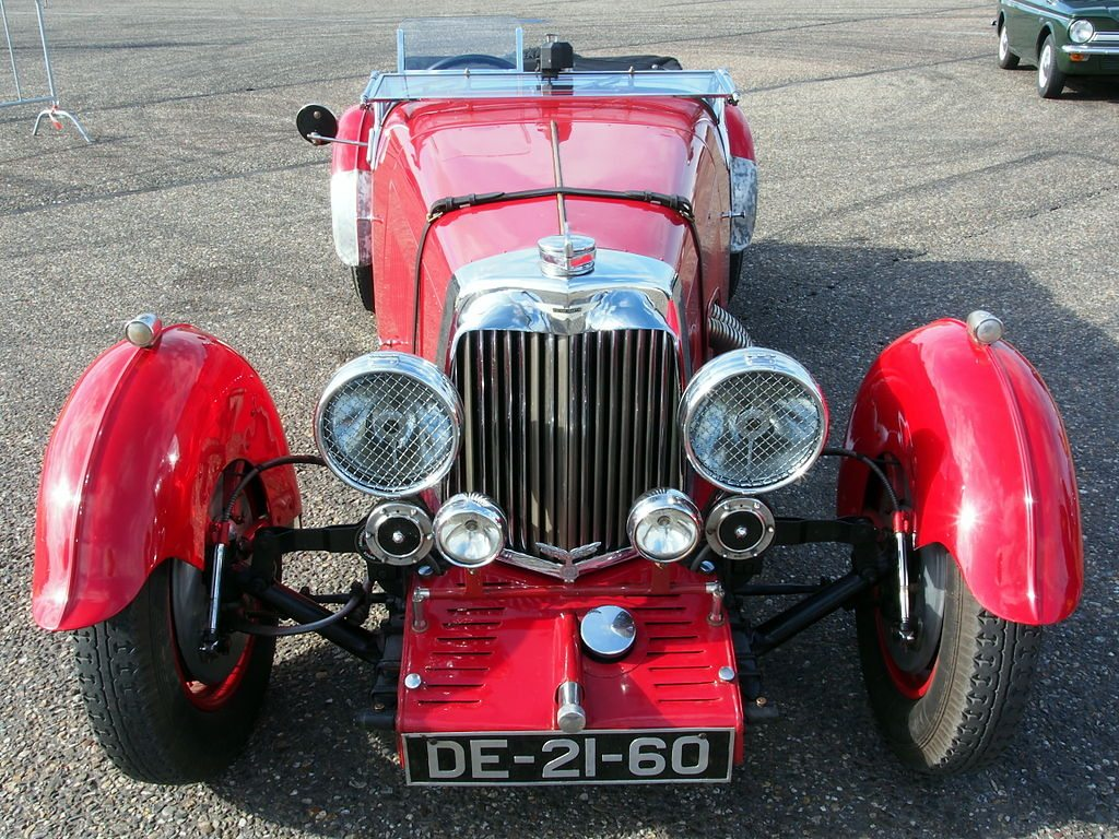 The Aston Martin MKII in Red