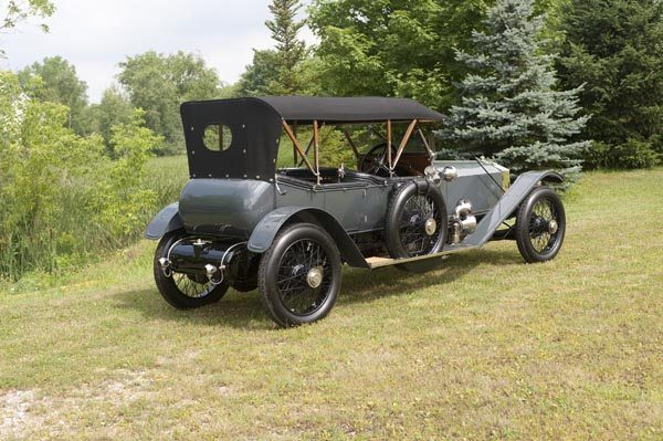 1912 Rolls Royce Silver Ghost 40/50 HP rear