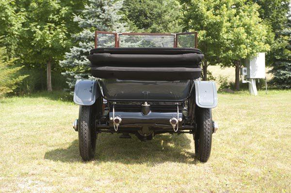 1912 Rolls Royce Silver Ghost 40/50 HP Rear Top Down