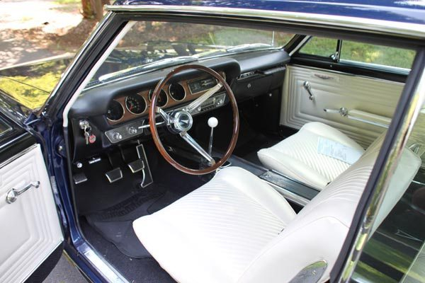 1965 Pontiac GTO Coupe Interior