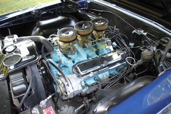 1965 Pontiac GTO Coupe Engine