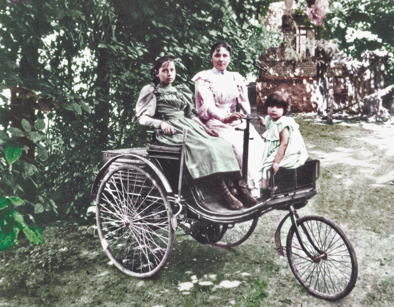 Benz 1886 Patent Motorwagen