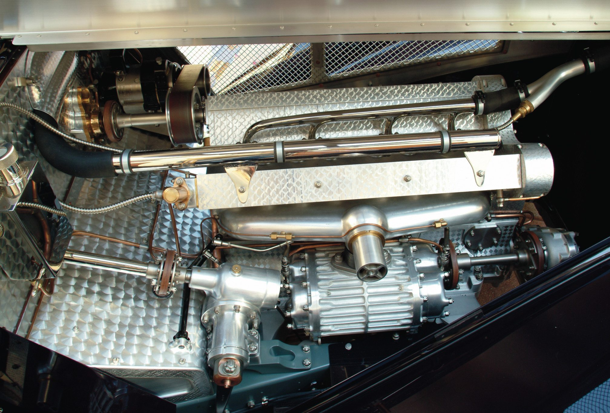 Bugatti Type 51 2.3l Supercharged Engine