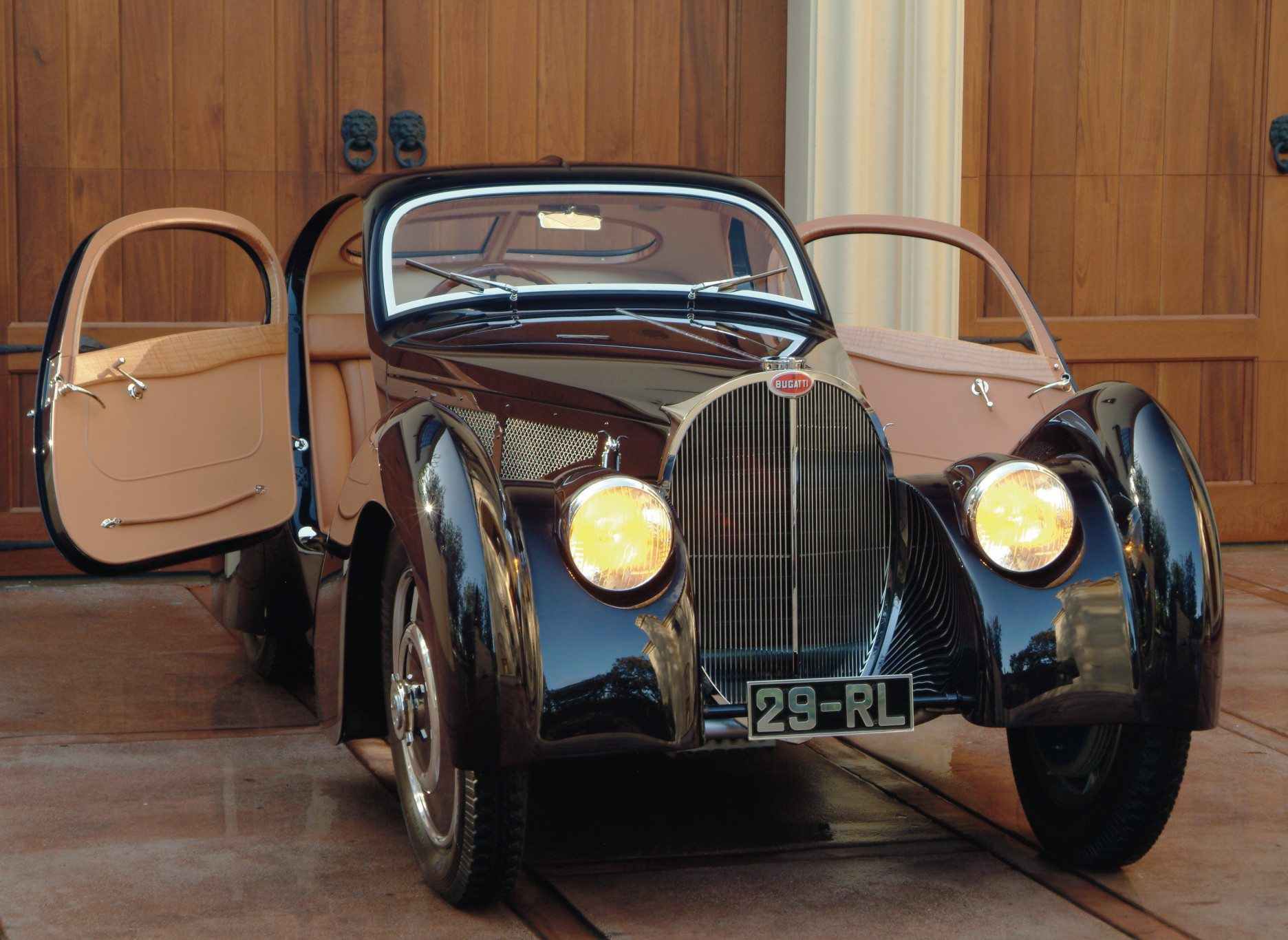 Bugatti Type 51 Coupe Doors Open