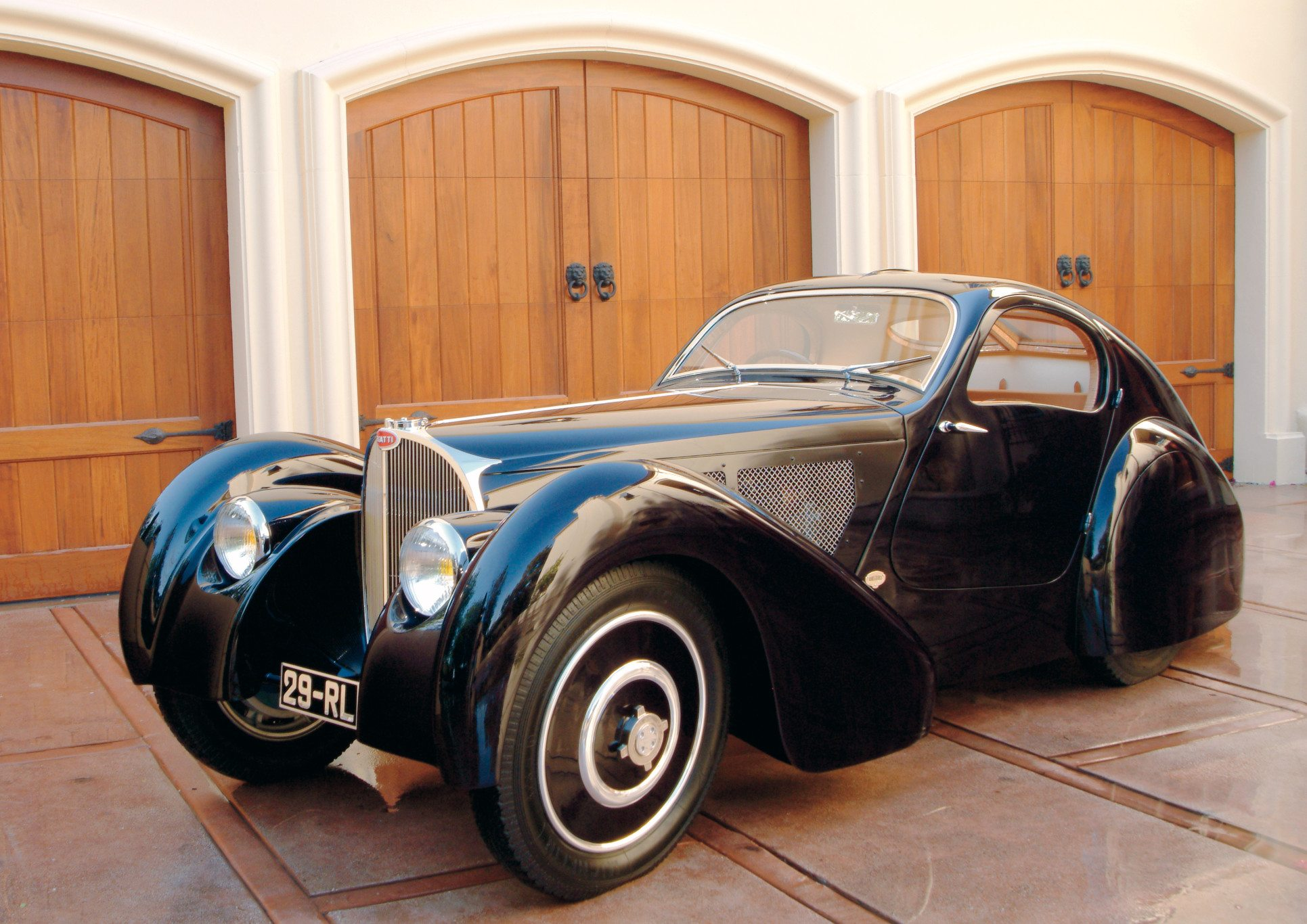 Bugatti Type 51 Coupe Side View