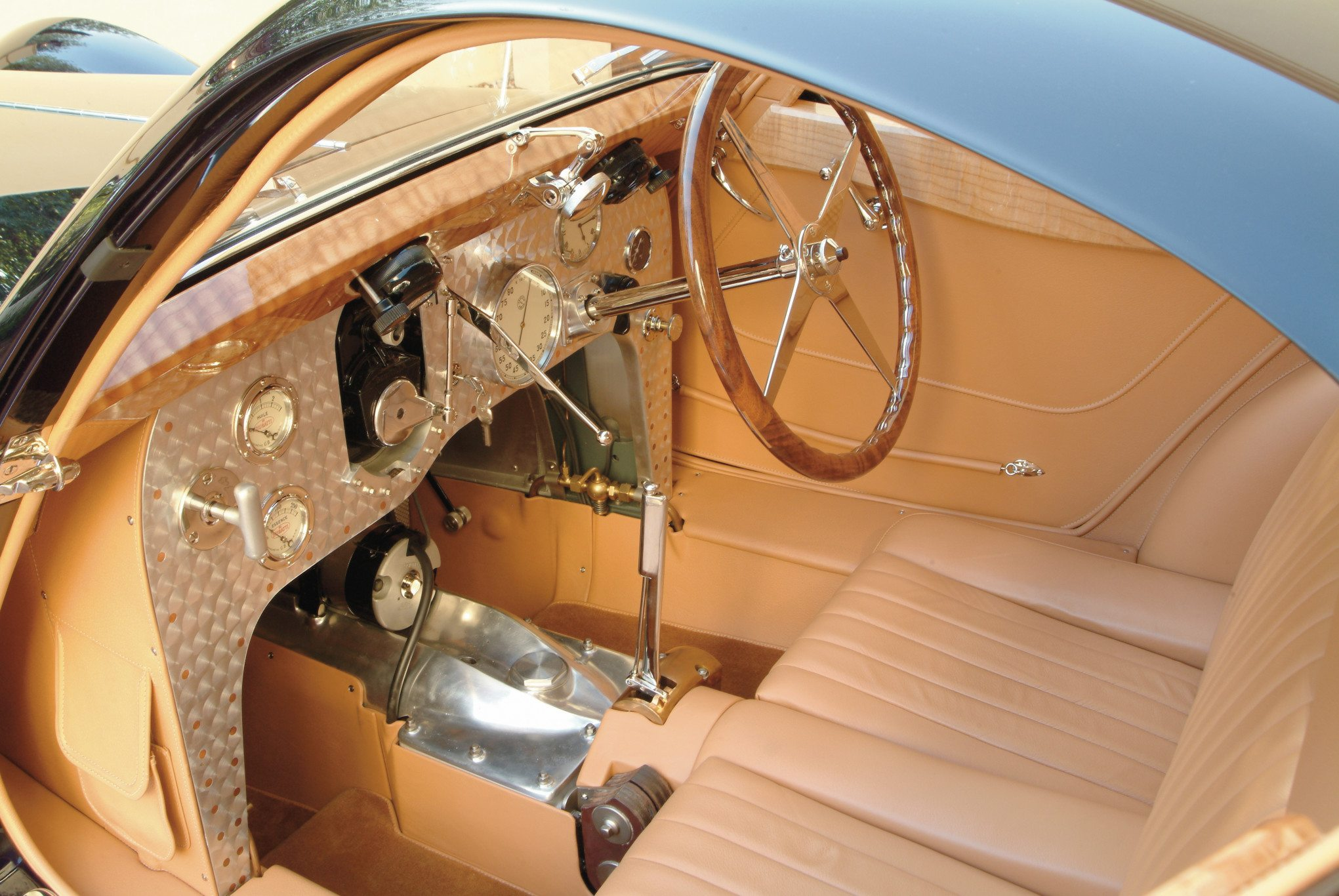 Bugatti Type 51 Dubos Coupe Interior