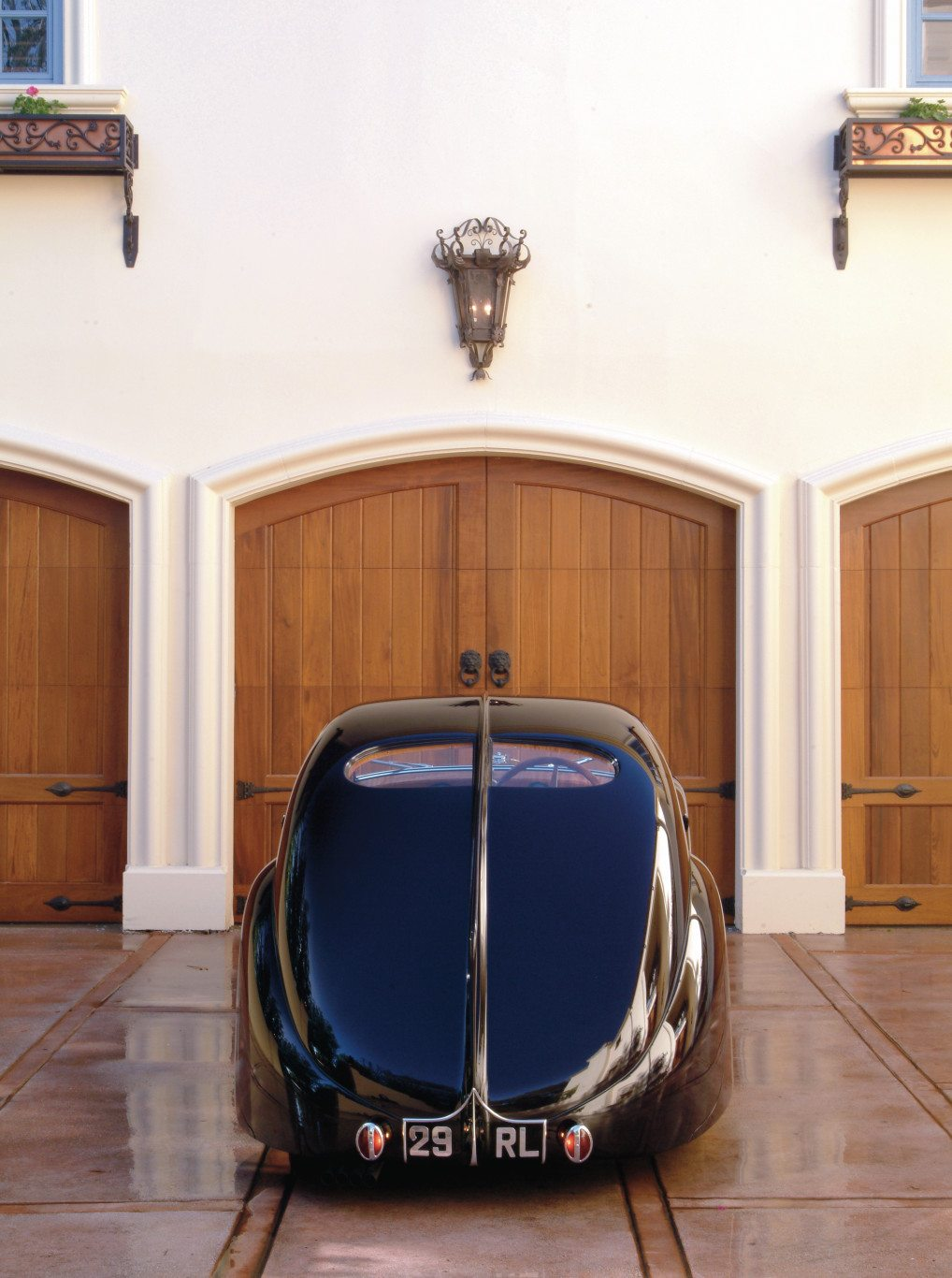 Bugatti Type 51 Dubos Coupe Rear