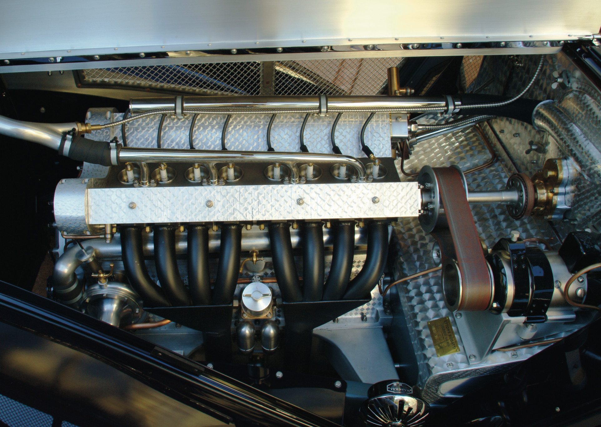 Bugatti Type 51 Inline 8 Engine