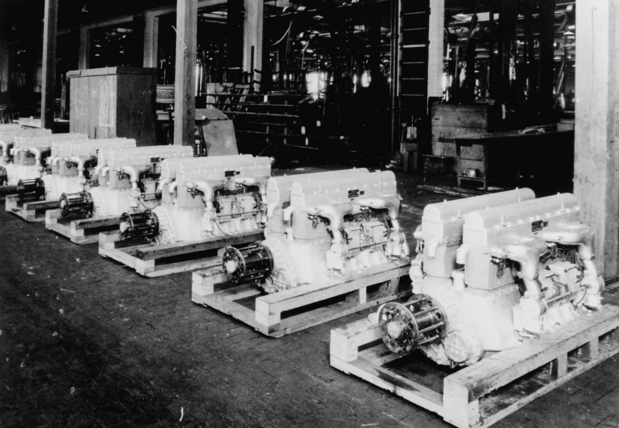 Bugatti U.S. sixteen-cylinder aircraft engines U-16