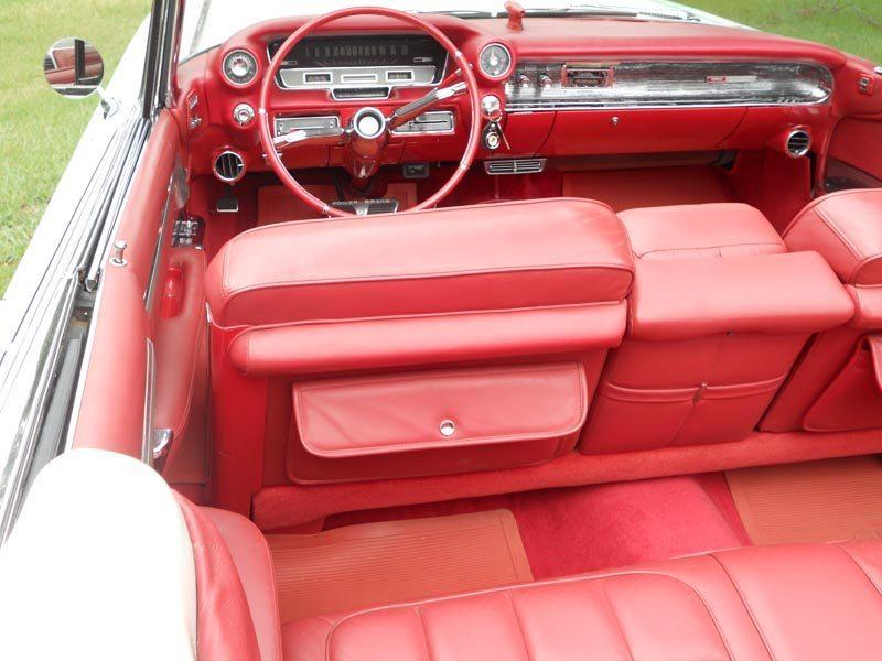 1960 Cadillac Eldorado Biarritz Red Interior