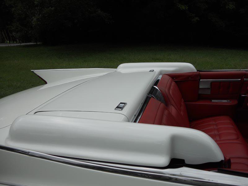 1960 Cadillac Eldorado Biarritz Convertible Cover Closeup