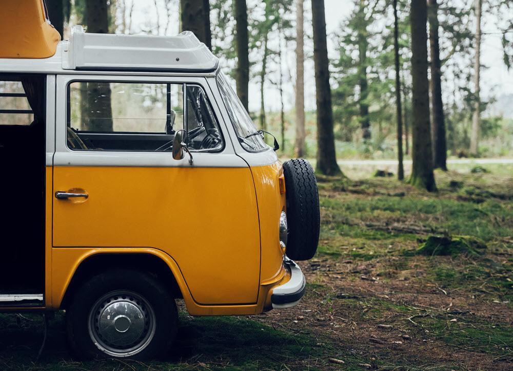 Classic Car Insurance Yellow Bus