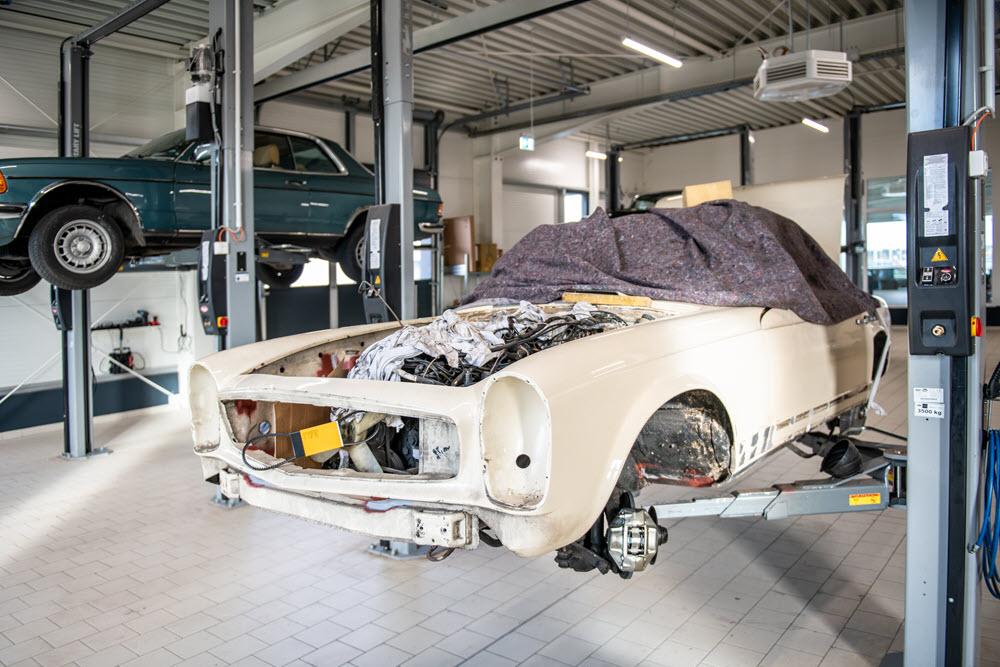 Classic Car Repair Shop Perks