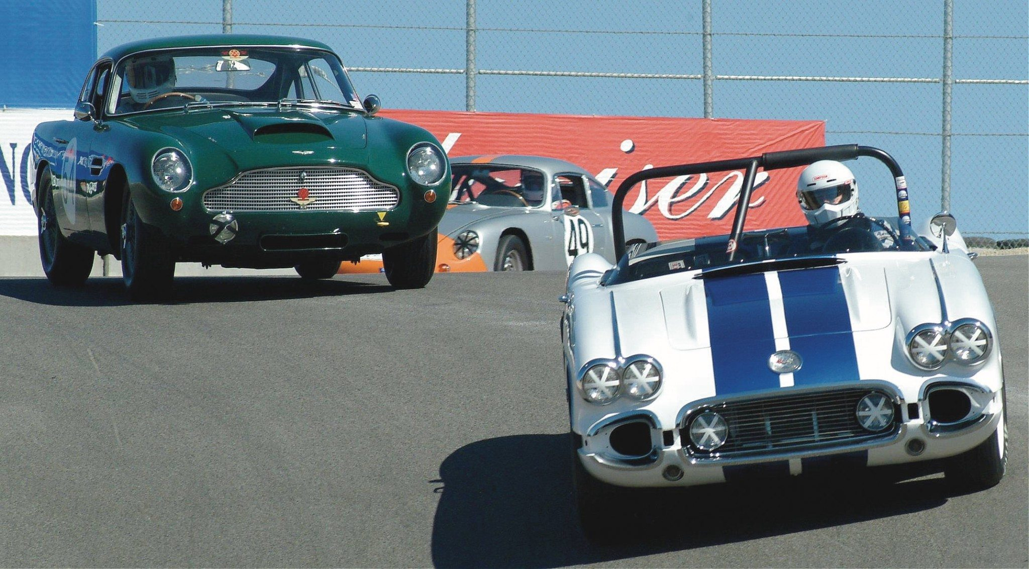 Classic Corvette, Aston Martin and Porsche Racing
