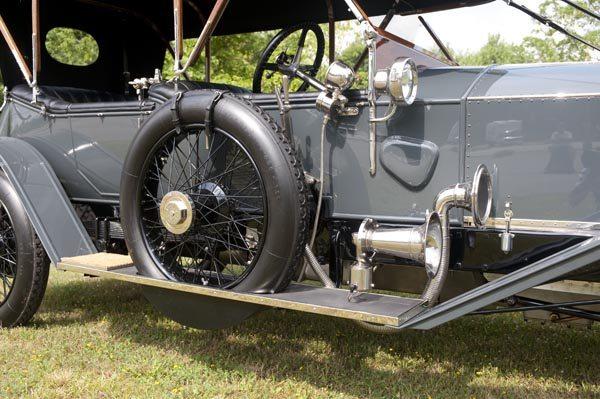1912 Rolls Royce Silver Ghost 40/50 HP spare wheel
