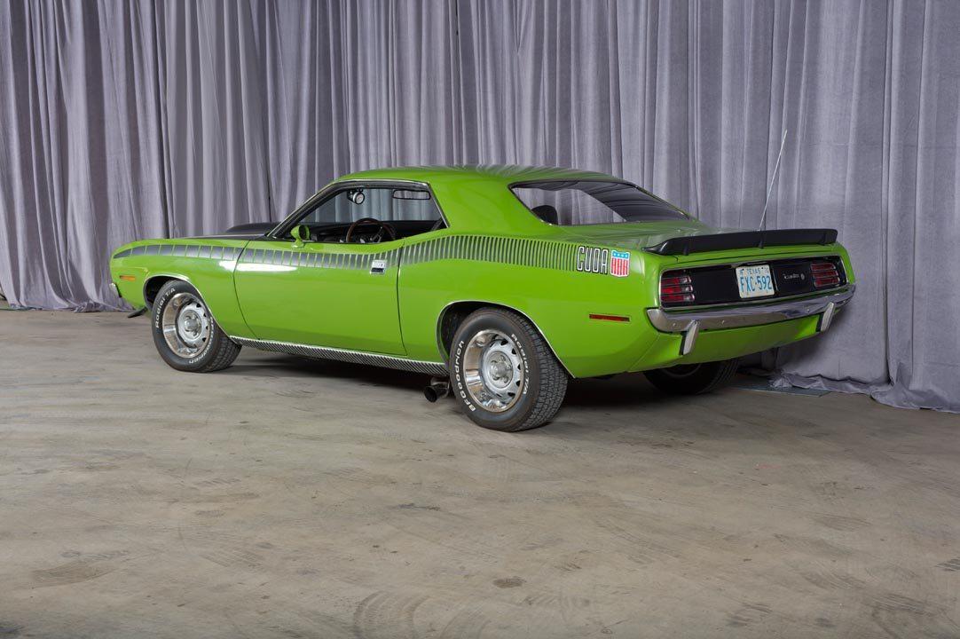 1970 Plymouth AAR 'Cuda Rear Quarter View