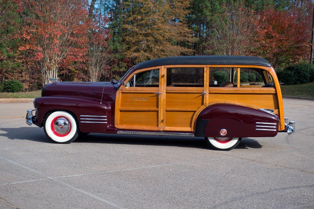 1941 Cadillac Series 61 Estate Wagon driver side