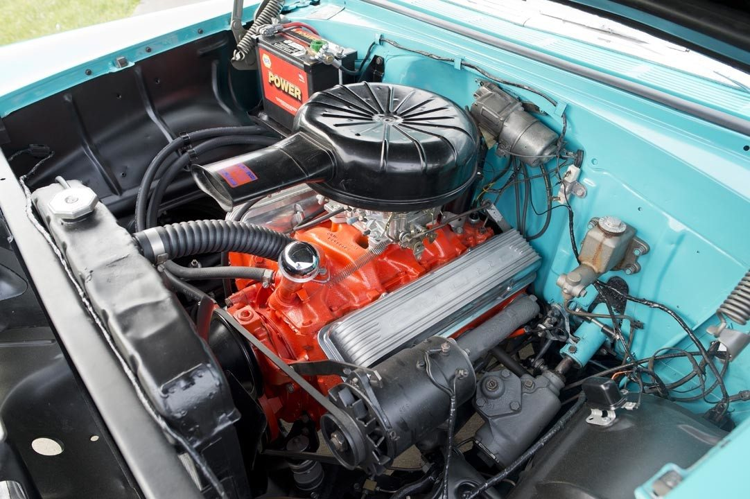 1955 Chevrolet Bel Air Convertible Engine