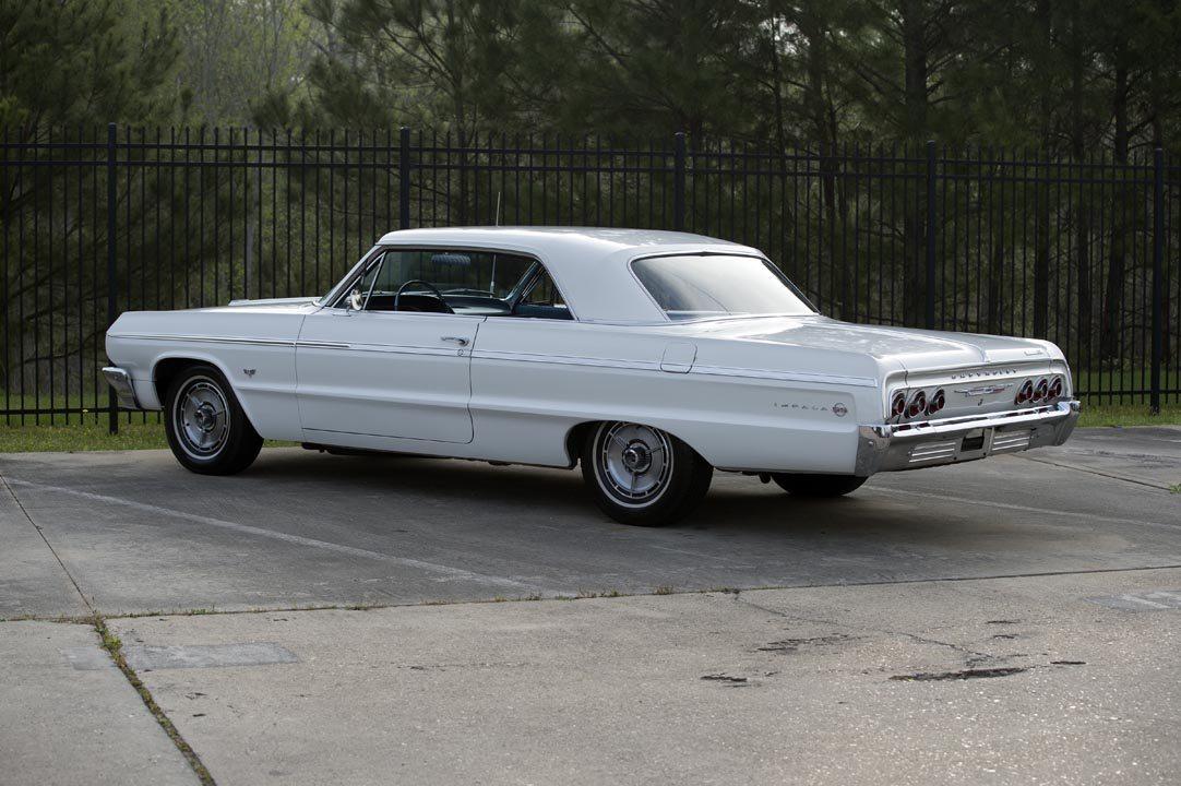 1964 Chevrolet Impala SS Hardtop Rear Quarter View