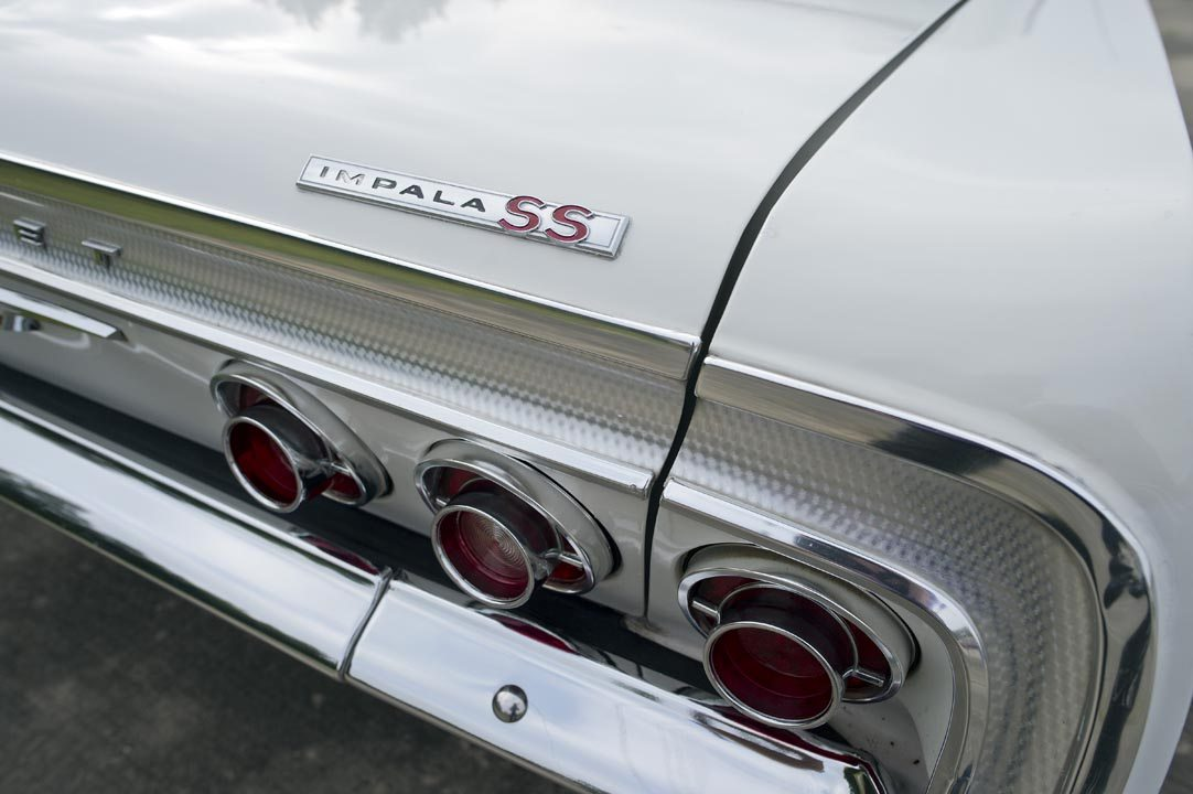 1964 Chevrolet Impala SS Hardtop rear badge