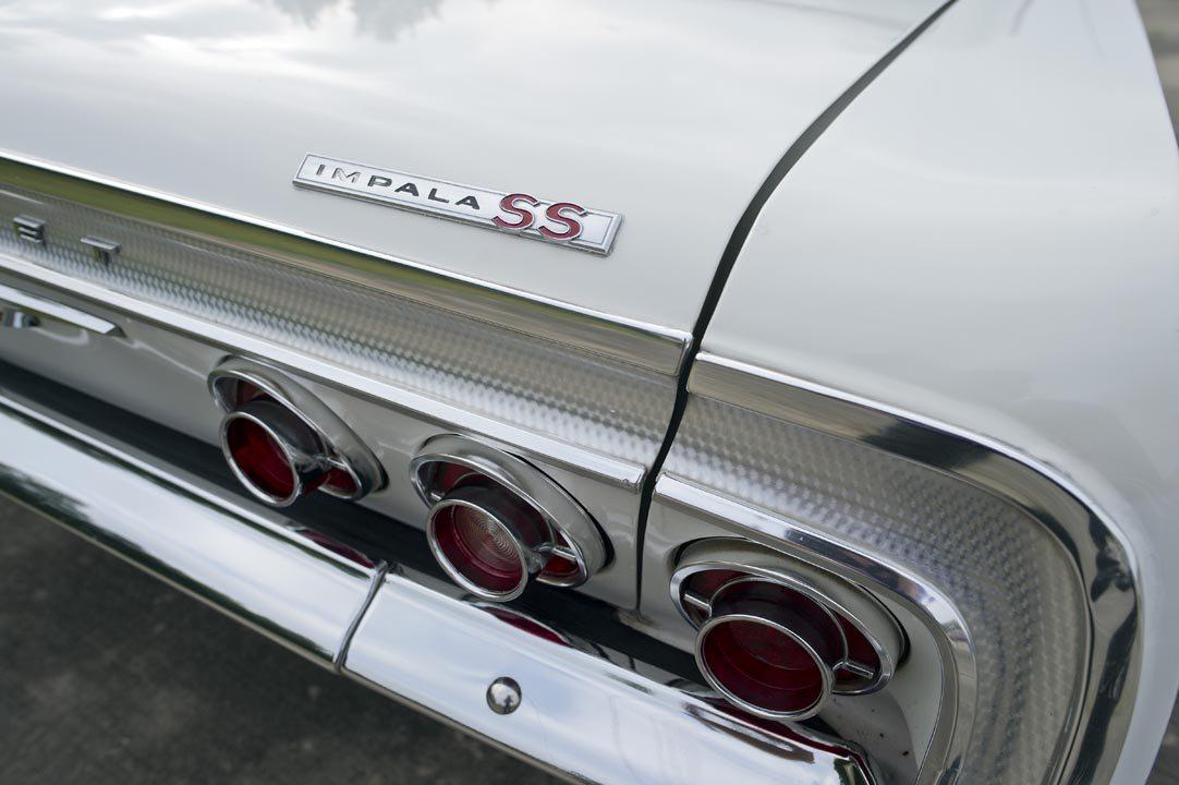 1964 Chevrolet Impala SS Hardtop rear badge
