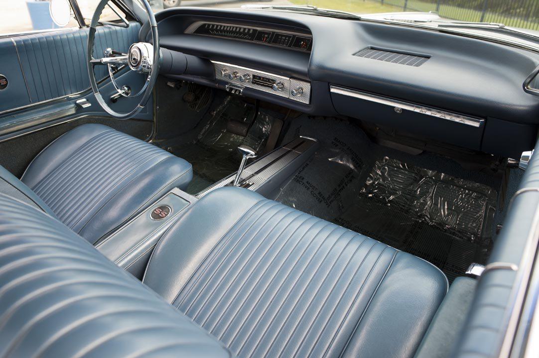 1964 Chevrolet Impala SS Hardtop Interior