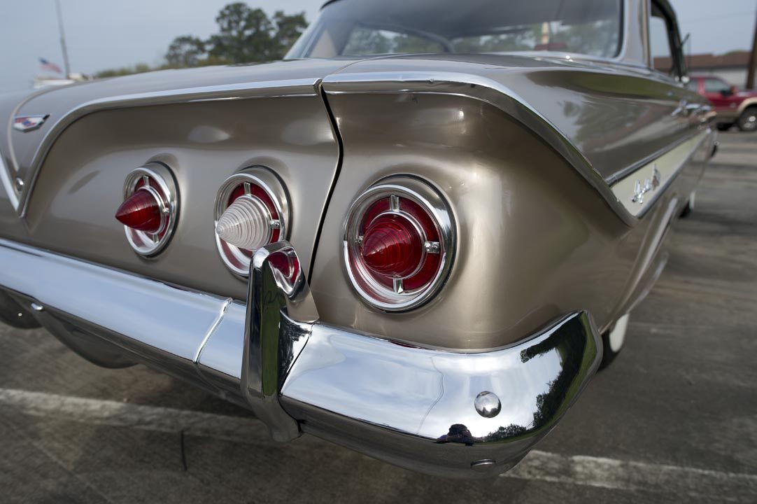 1961 Chevrolet Impala Hardtop Rear Light