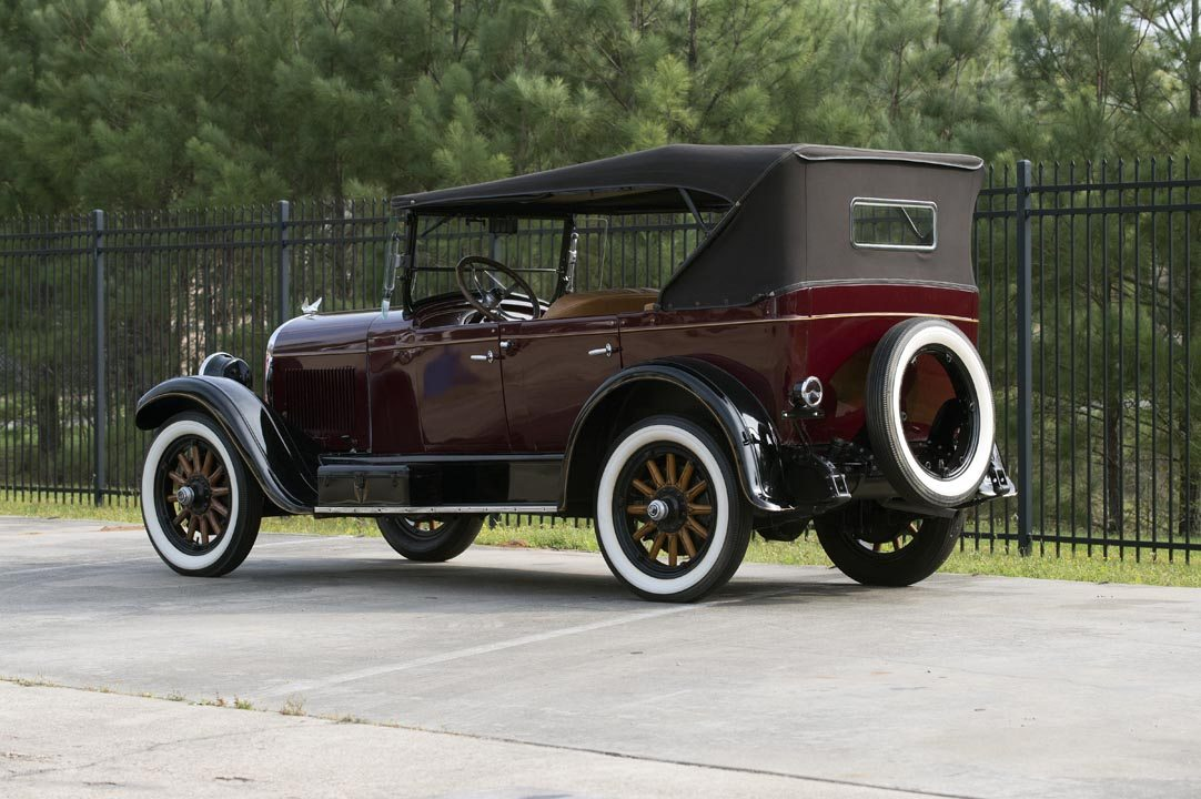 1926 Chrysler F58 5-Passenger Touring Convertible Rear