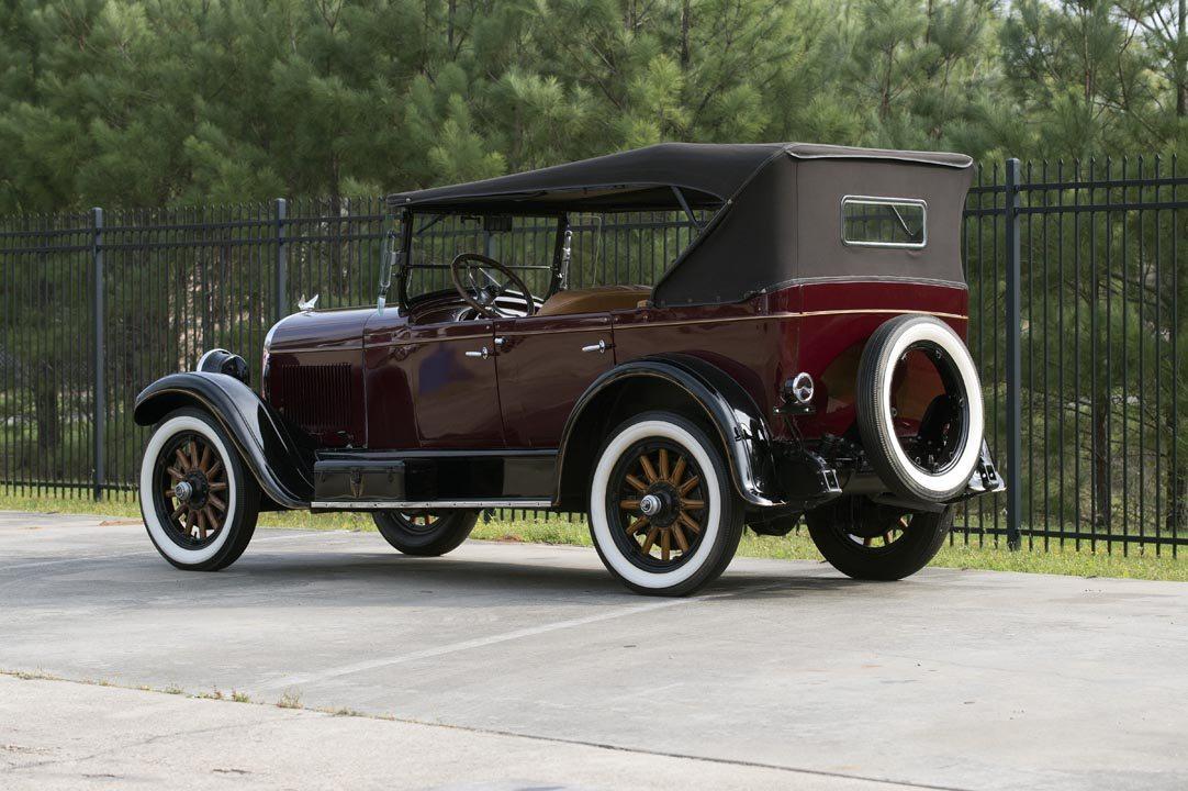 1926 Chrysler F58 5-Passenger Touring Convertible Rear