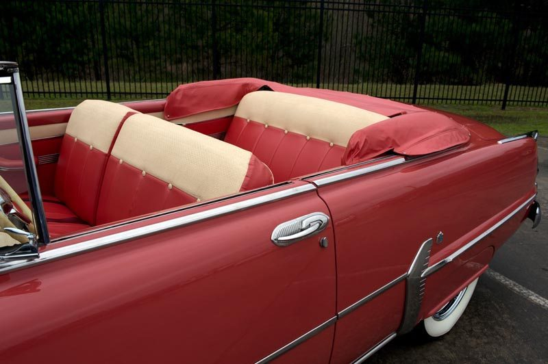 1954 Plymouth Belvedere Convertible Interior Roof Down