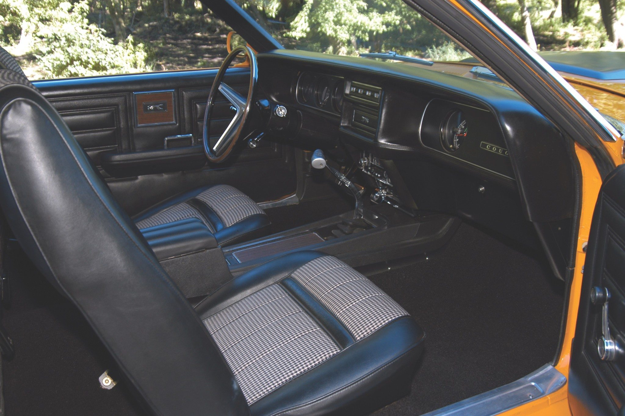 1970 Mercury Cougar Eliminator Interior