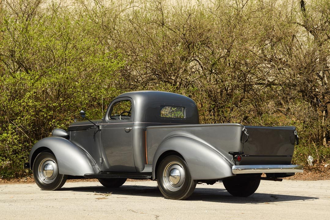 1937 Studebaker Coupe Express Truck Rear View