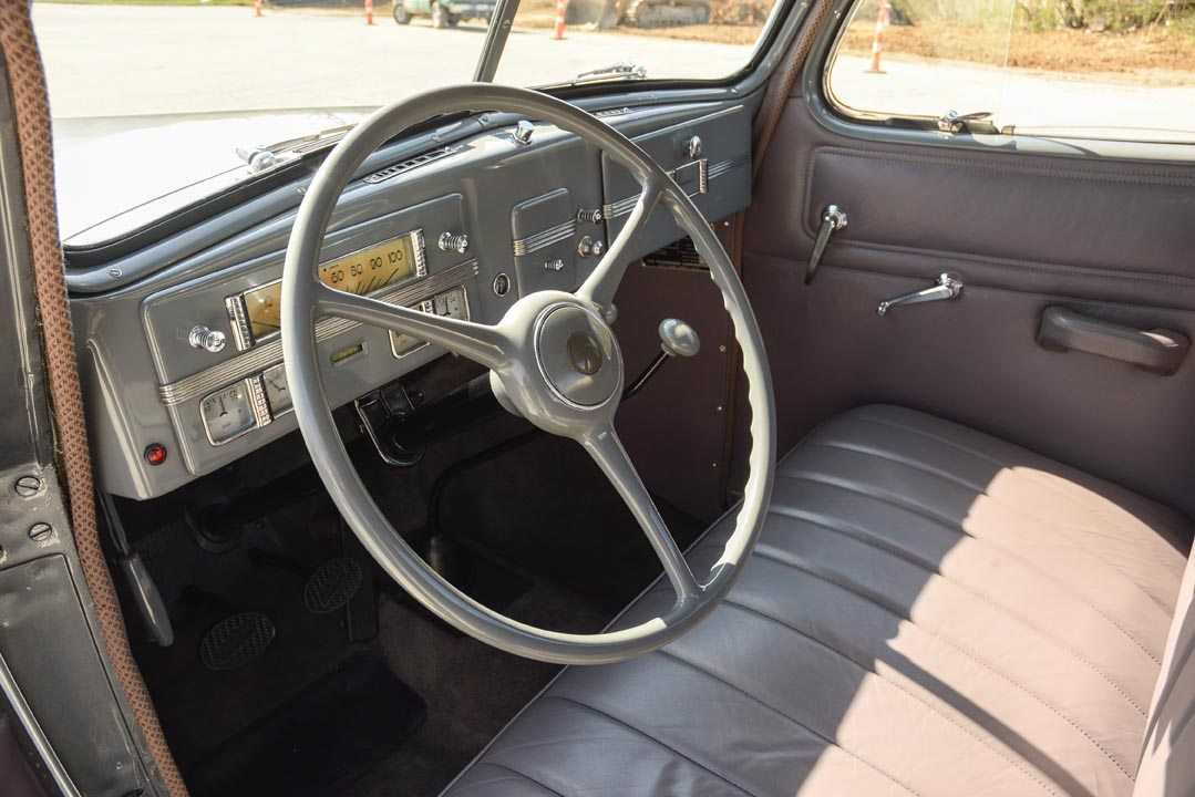 1937 Studebaker Coupe Express Truck Interior and Dashboard