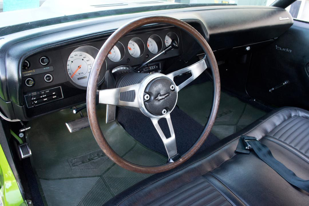 1970 Plymouth AAR 'Cuda Steering Wheel