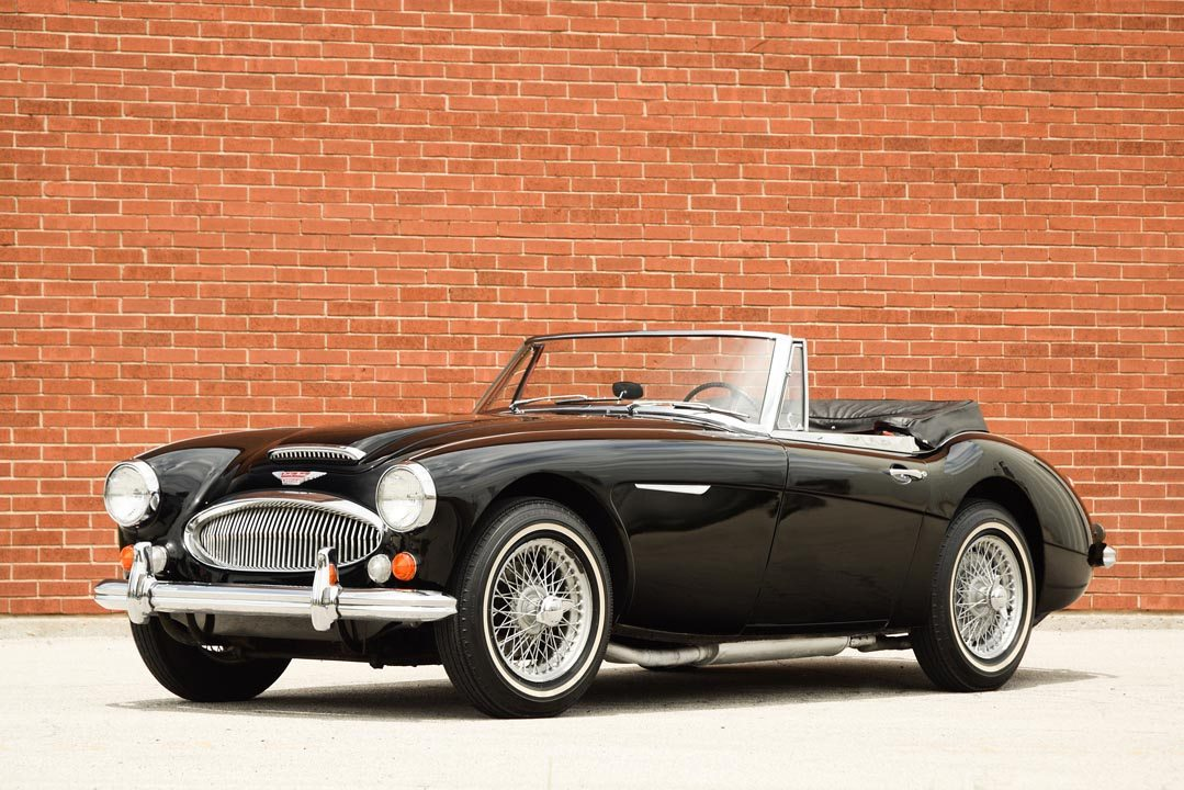 1965 Austin-Healey 3000 Mk III Roadster Top Down