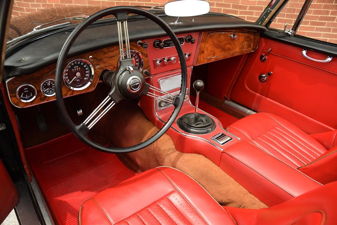 1965 Austin-Healey 3000 Mk III Roadster Interior